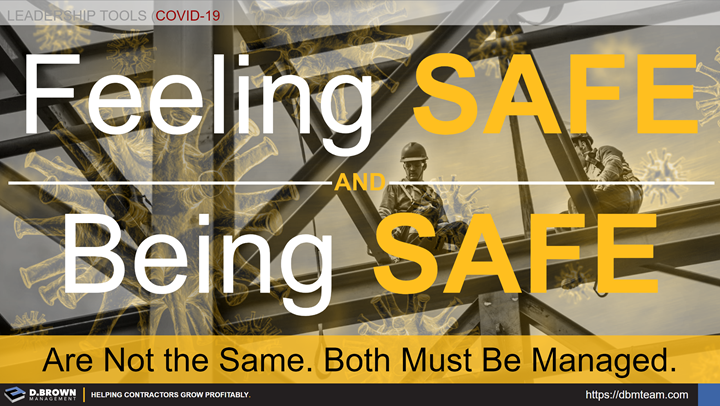 Leadership Tools for COVID-19: Feeling Safe and Being Safe.