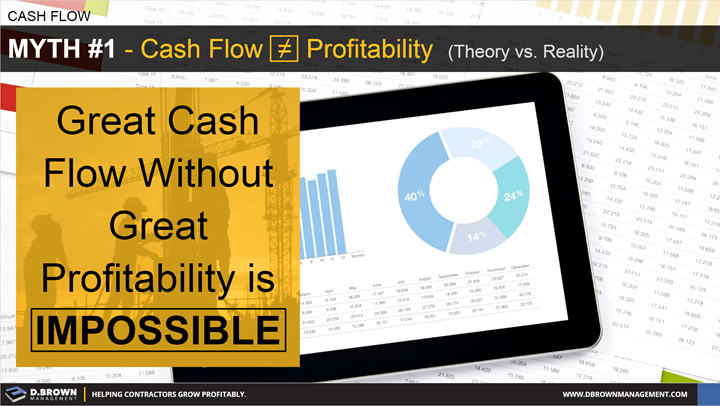 Cash Flow: Myth 1 - Cash Flow is not equal to Profitability.