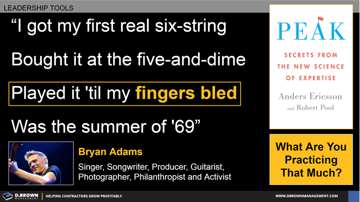 Quote: I got my first real six-string. Bought it at the five-and-dime. Played it 'til my fingers bled. Was the summer of '69. Bryan Adams.